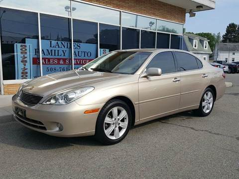 2006 Lexus ES 330 for sale at Landes Family Auto Sales in Attleboro MA
