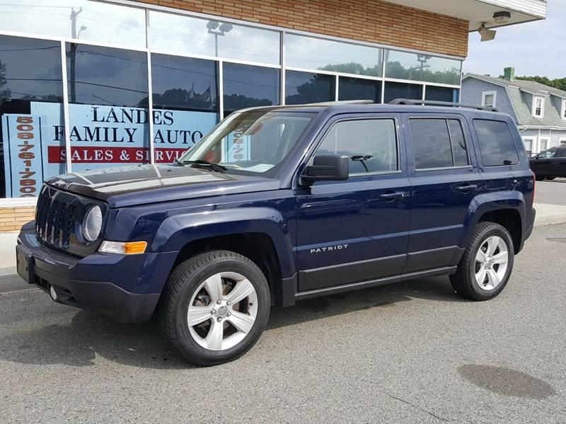 2014 Jeep Patriot for sale at Landes Family Auto Sales in Attleboro MA