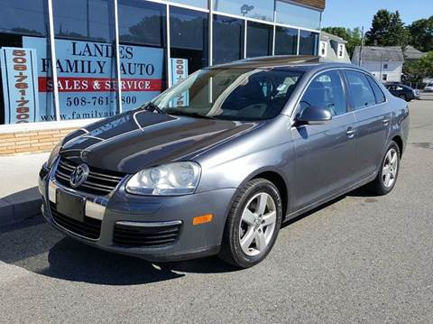 2009 Volkswagen Jetta for sale at Landes Family Auto Sales in Attleboro MA