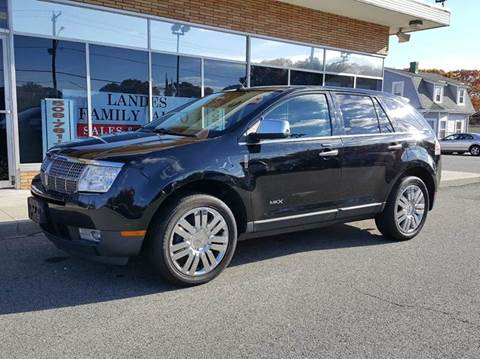 2009 Lincoln MKX for sale at Landes Family Auto Sales in Attleboro MA