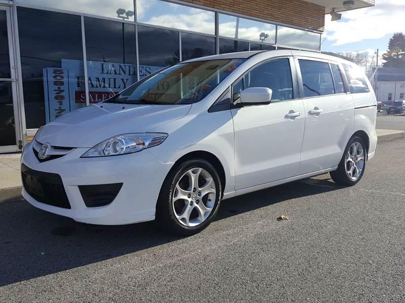 2010 Mazda MAZDA5 for sale at Landes Family Auto Sales in Attleboro MA