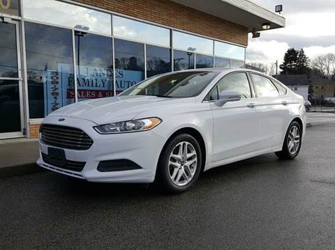2014 Ford Fusion for sale at Landes Family Auto Sales in Attleboro MA