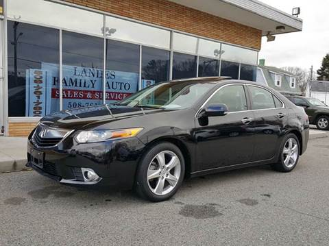 2012 Acura TSX for sale at Landes Family Auto Sales in Attleboro MA