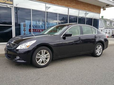 2012 Infiniti G37 Sedan for sale at Landes Family Auto Sales in Attleboro MA
