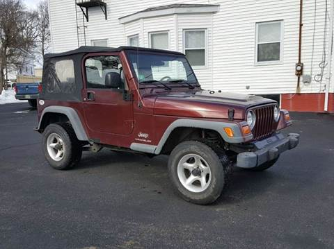 2003 Jeep Wrangler for sale at Landes Family Auto Sales in Attleboro MA