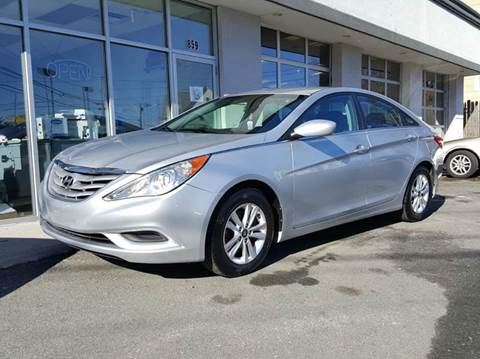 2013 Hyundai Sonata for sale at Landes Family Auto Sales in Attleboro MA