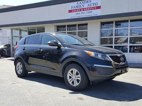 2011 Kia Sportage for sale at Landes Family Auto Sales in Attleboro MA