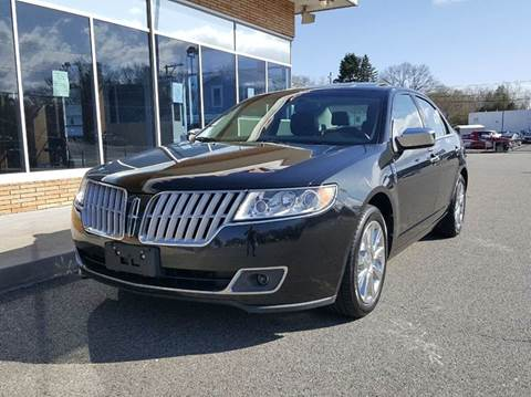 2012 Lincoln MKZ for sale at Landes Family Auto Sales in Attleboro MA