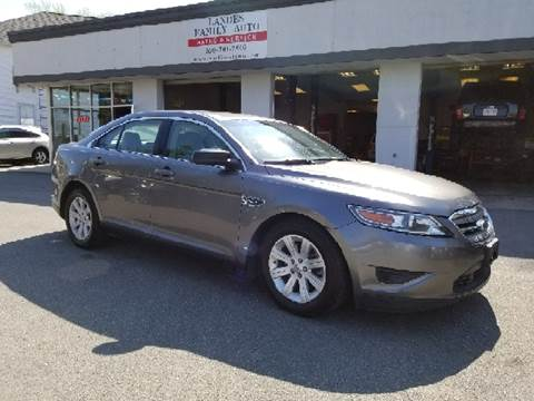 2011 Ford Taurus for sale at Landes Family Auto Sales in Attleboro MA