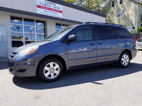 2010 Toyota Sienna for sale at Landes Family Auto Sales in Attleboro MA