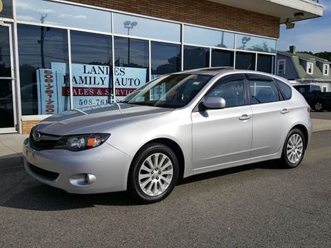 2010 Subaru Impreza for sale at Landes Family Auto Sales in Attleboro MA