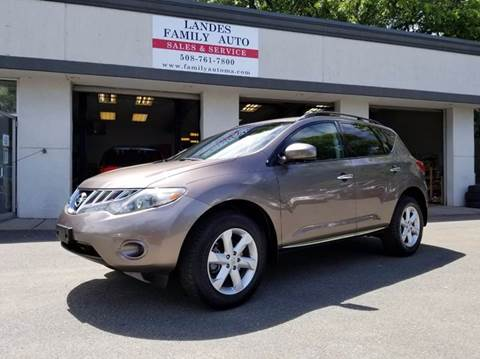 2009 Nissan Murano for sale at Landes Family Auto Sales in Attleboro MA