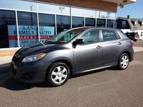 2010 Toyota Matrix for sale at Landes Family Auto Sales in Attleboro MA