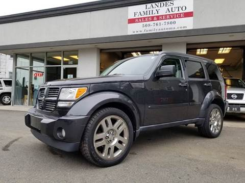 2010 Dodge Nitro for sale at Landes Family Auto Sales in Attleboro MA