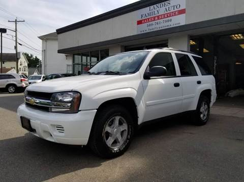 2006 Chevrolet TrailBlazer for sale at Landes Family Auto Sales in Attleboro MA
