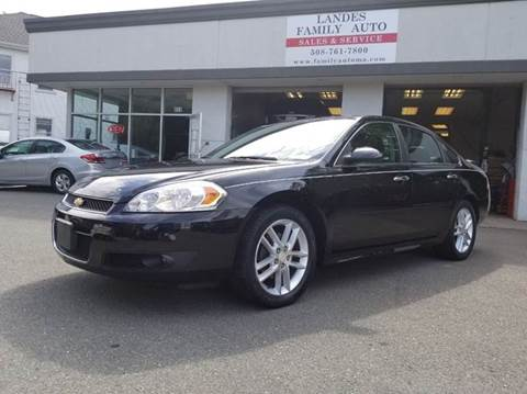 2013 Chevrolet Impala for sale at Landes Family Auto Sales in Attleboro MA