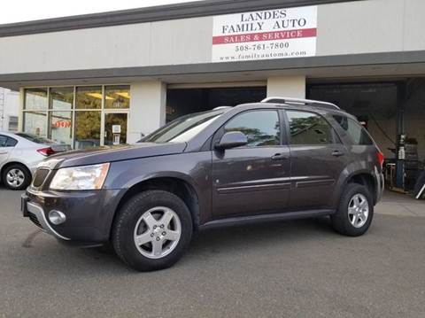 2008 Pontiac Torrent for sale at Landes Family Auto Sales in Attleboro MA