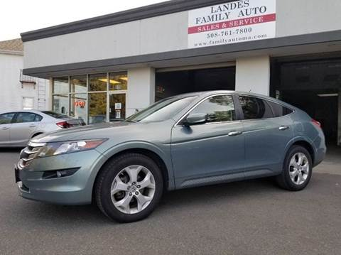 2010 Honda Accord Crosstour for sale at Landes Family Auto Sales in Attleboro MA