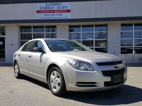 2010 Chevrolet Malibu for sale at Landes Family Auto Sales in Attleboro MA