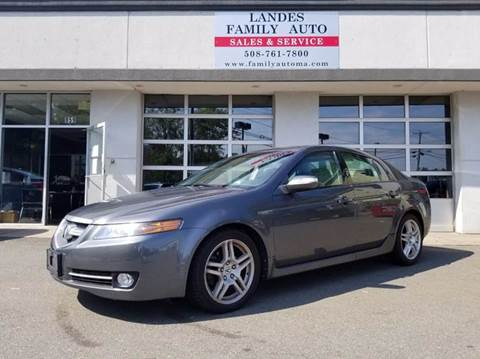 2008 Acura TL for sale at Landes Family Auto Sales in Attleboro MA