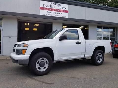 2010 Chevrolet Colorado for sale at Landes Family Auto Sales in Attleboro MA