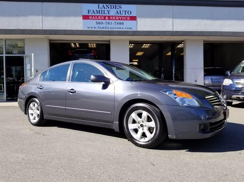 2009 Nissan Altima for sale at Landes Family Auto Sales in Attleboro MA