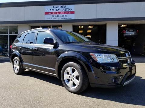 2012 Dodge Journey for sale at Landes Family Auto Sales in Attleboro MA