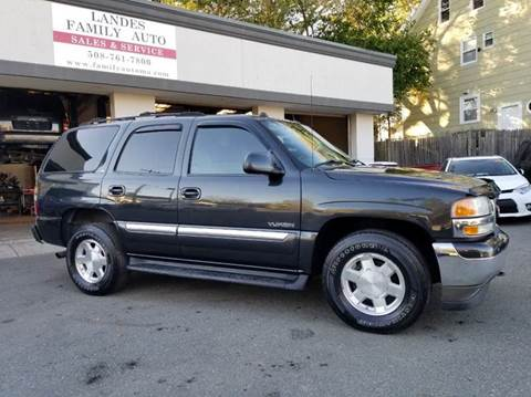 2005 GMC Yukon for sale at Landes Family Auto Sales in Attleboro MA