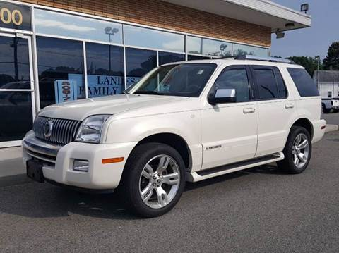 2010 Mercury Mountaineer for sale at Landes Family Auto Sales in Attleboro MA
