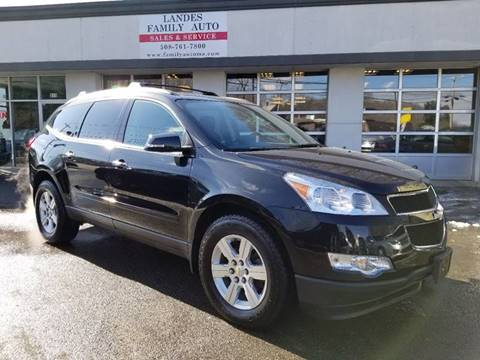 2011 Chevrolet Traverse for sale at Landes Family Auto Sales in Attleboro MA