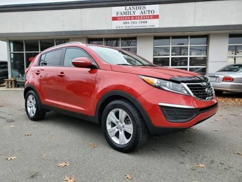 2013 Kia Sportage for sale at Landes Family Auto Sales in Attleboro MA