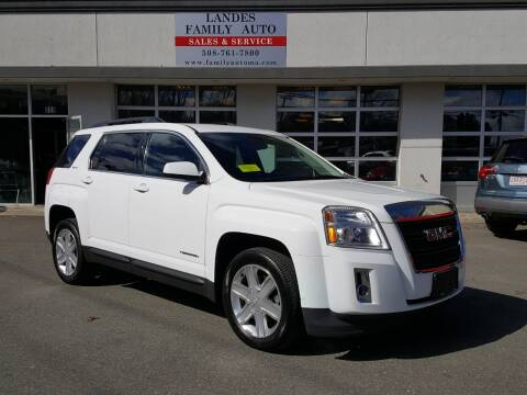 2015 GMC Terrain for sale at Landes Family Auto Sales in Attleboro MA