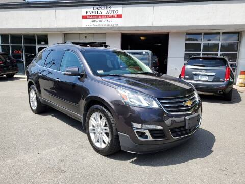 2014 Chevrolet Traverse for sale at Landes Family Auto Sales in Attleboro MA