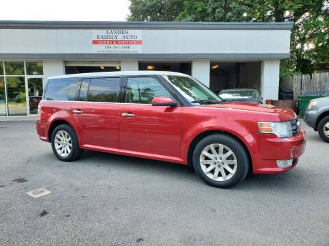 2011 Ford Flex for sale at Landes Family Auto Sales in Attleboro MA