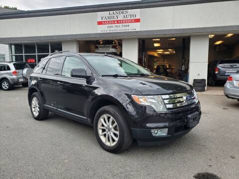 2010 Ford Edge for sale at Landes Family Auto Sales in Attleboro MA