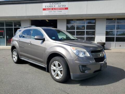 2011 Chevrolet Equinox for sale at Landes Family Auto Sales in Attleboro MA