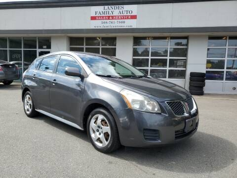 2009 Pontiac Vibe for sale at Landes Family Auto Sales in Attleboro MA
