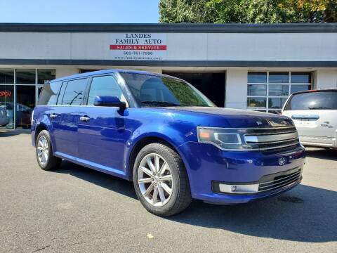 2014 Ford Flex for sale at Landes Family Auto Sales in Attleboro MA