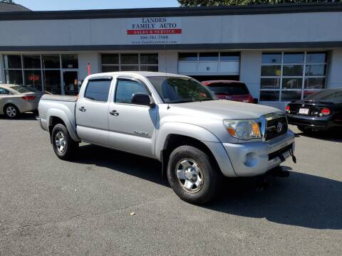 2011 Toyota Tacoma for sale at Landes Family Auto Sales in Attleboro MA
