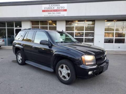 2006 Chevrolet TrailBlazer for sale at Landes Family Auto Sales in Attleboro MA