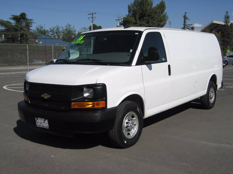 2016 Chevrolet Express Cargo 2500 3dr Extended Cargo Van w/1WT - San Jose CA