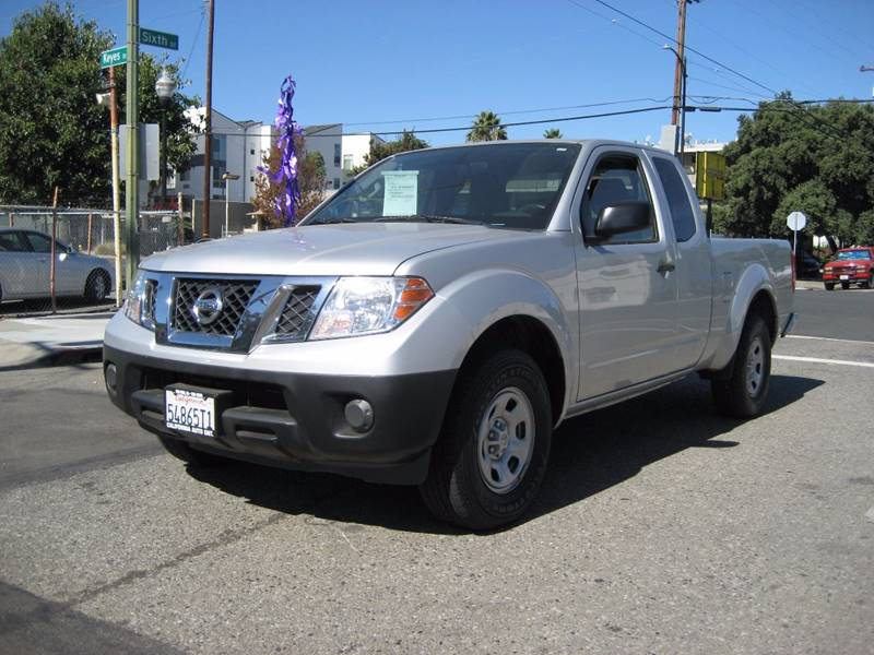 2014 NISSAN FRONTIER S 4X2 4DR KING CAB 61 FT SB PI gray 2014 nissan frontier king cab s pickup