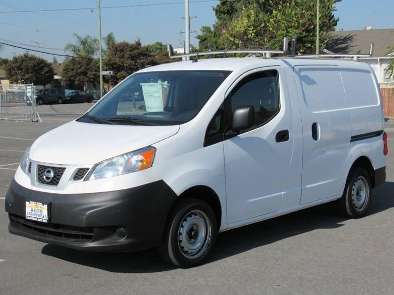 2015 NISSAN NV200 S 4DR CARGO MINI VAN white 2015 nissan nv200 s van 4d 4-cyl 20 liter auto cv
