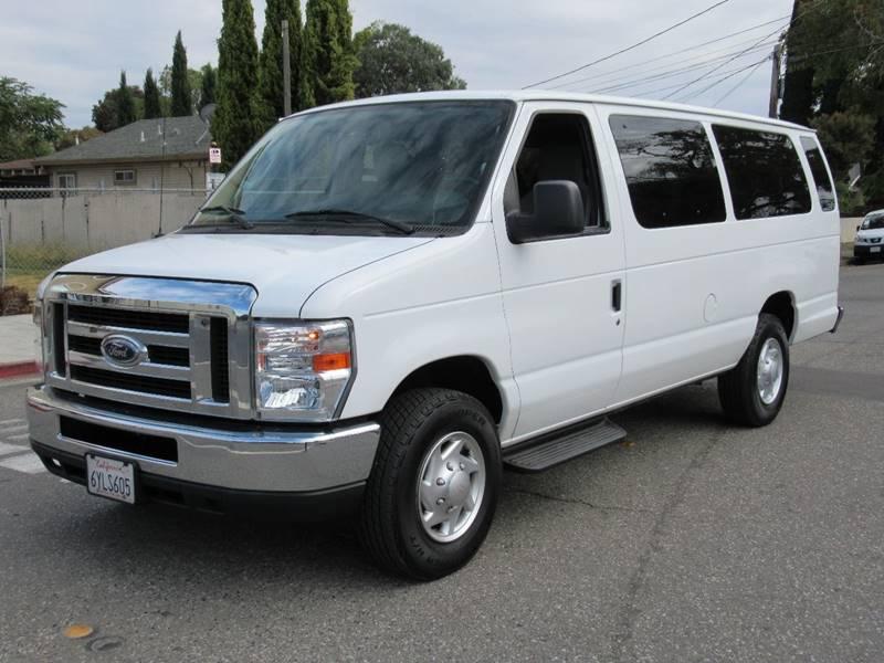 2012 FORD E-350 XLT EXTENDED VAN white 2012 ford e350 super duty passenger xlt extended van 3d v8