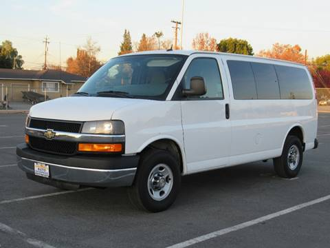 2015 Chevrolet Express Passenger For Sale In San Jose CA