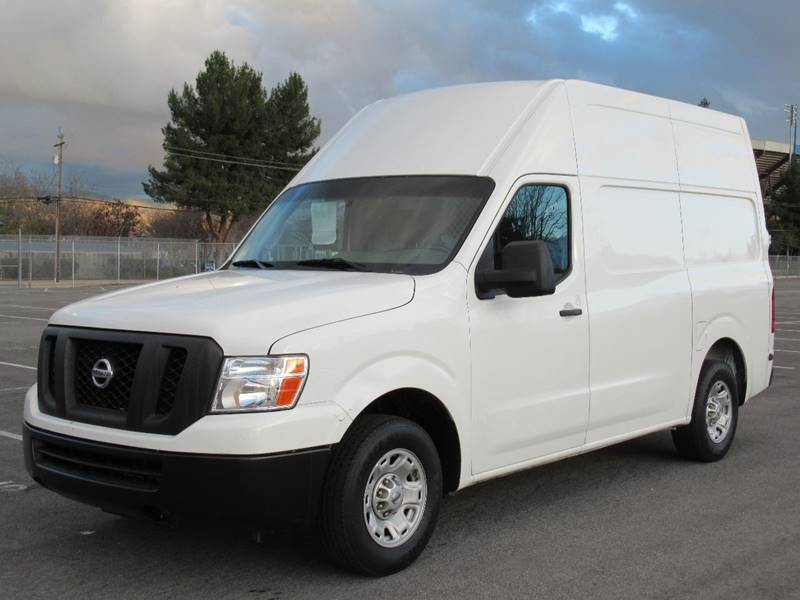 2012 NISSAN NV CARGO 2500 HD S 3DR CARGO VAN W HIGH off white 2012 nissan nv2500 hd cargo s van