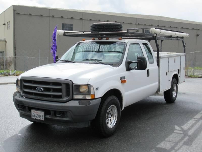 2002 FORD F-350 SUPER DUTY XL 4DR SUPERCAB 2WD LB white 2002 ford f350 super duty super cab long