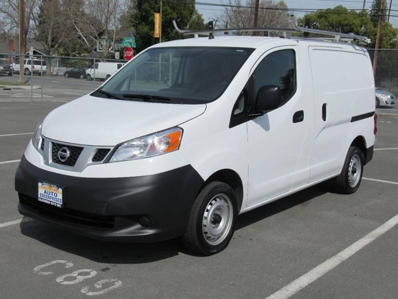 2015 NISSAN NV200 S 4DR CARGO MINI VAN white 2015 nissan nv200 s van 4d 4-cyl 20 liter  auto c