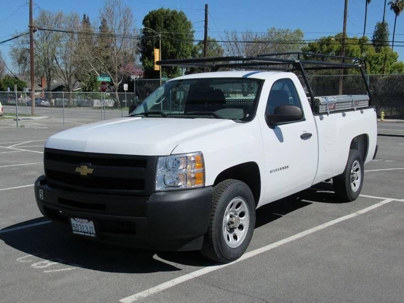 2013 CHEVROLET SILVERADO 1500 WORK TRUCK 4X2 2DR REGULAR CAB 8 white 2013 chevrolet silverado 150
