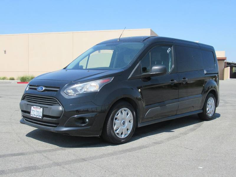 2014 FORD TRANSIT CONNECT CARGO XLT 4DR LWB CARGO MINI VAN WREA black 2014 ford transit connect